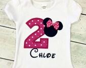 Pink Minnie #1 Birthday