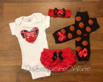 Chicago Bulls Game Day Outfit