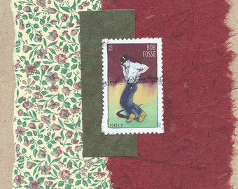 Dancers: Collage Card