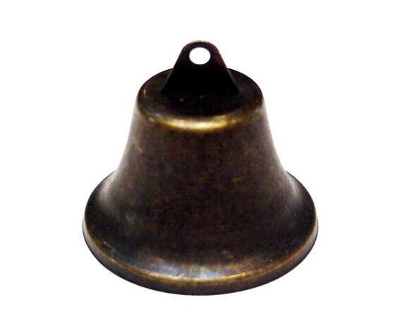 Rustic liberty bell bronze look mm metal ringing
