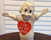 Large I love you this much figurine 70's r and  w berries company