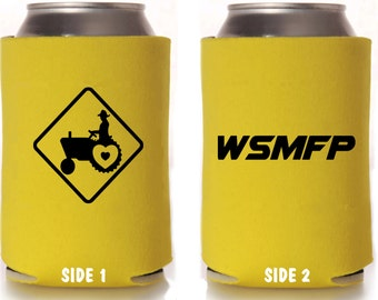 """Widespread Panic Can Cooler """"WSMFP & Love Tractor"""""""
