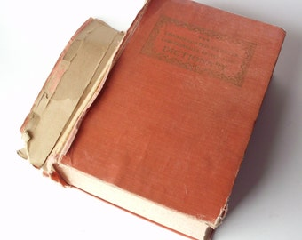 Vintage Consolidated Webster Encyclopedic Dictionary, 1956