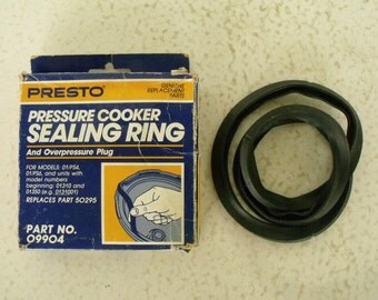 Presto Pressure Cooker Sealing Ring Part No. 09904 (replaces #50295)