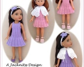 LC15 Cape Set for 13 and 14 inch dolls Pdf Pattern