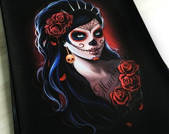 Day of the dead gothic fantasy dark poster