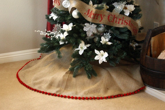 Christmas Tree Skirt Etsy