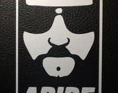 Big Lebowski, The Dude Abide vinyl sticker Jeff Lebowski 4x6 car decal