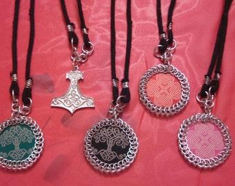 Norse/Celtic Medallion Necklaces
