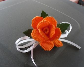 Large Orange Rose