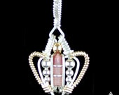 Pink Tourmaline Future Mini Pendant