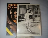 Bruce Lee In The Game Of Death with Autographed Photo included. Collectible Magazine DanPickedMinerals