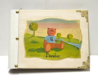 Baby keepsake, baby shower book, colorful photos, keepsake book, baby journal, new baby book, baby keepsake book, newborn book coaster album