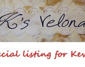 Special listing for Kevin