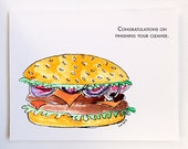 Cleanse Congratulations with Burger