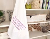 The Most Expensive Part of Having Kids Is All The Wine You Have To Drink Gourmet Flour Sack Dish Towel