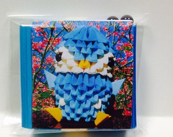 3D Origami Piplup kit