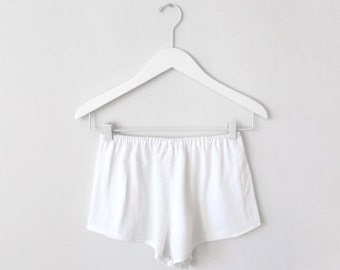 Momo / Textured simple french knickers