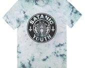 Satanic Youth Mermaid Tie Dye T-Shirt UNISEX Sizes S M L XL