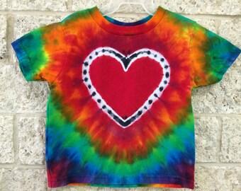 Tie Dye Heart, Youth 18 months