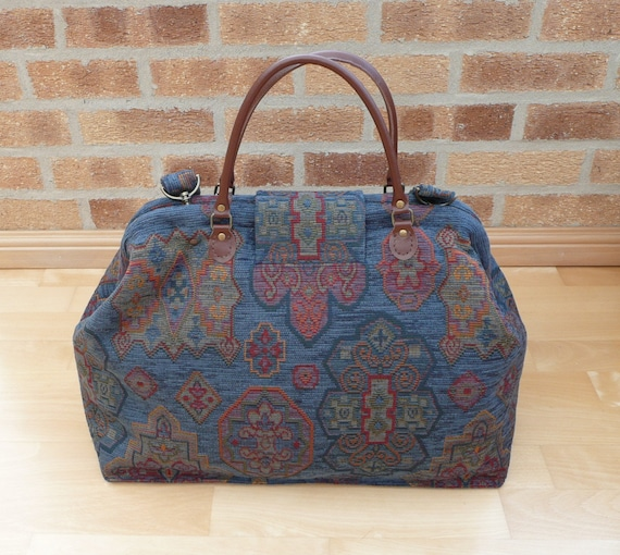 Mary Poppins Weekend Overnight Bag Carpet Bag Holdall Luggage