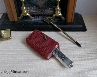 Victorian Sleigh or Carriage Heater #9 in 1 Inch Scale for Dollhouse Miniature or Breyer Model Horse Scene