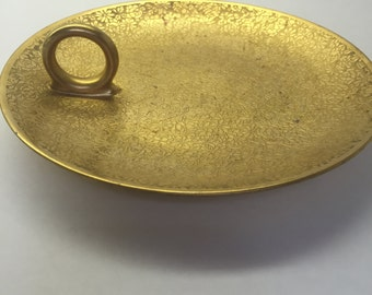 Gold Dish, Epiag, Czechoslovakia