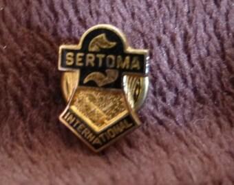 Lapel Pin Vintage 1970s Sertoma International