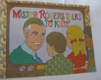 Vintage Mr. Rogers Talks to Kids Book