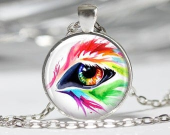 Eye Jewelry Eye Necklace Wearable Art