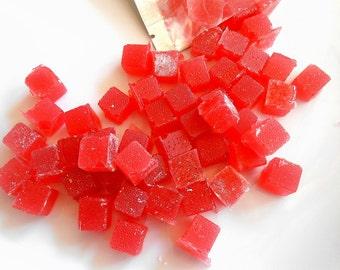 Sugar Spike Cubes, Hard Candy, Organic Garcinia Cambogia 30 Cubes, Watermelon,  Rock Candy , Vegan, Gluten Free