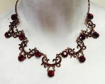 Vintage siam necklace