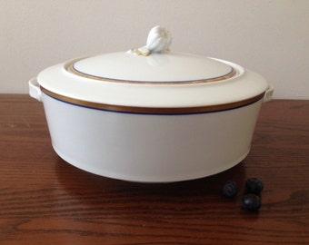 Sale    -----------Mid Century Art Porcelain Skandinavien Design,Made in Switzerland,Suisse Langenthal ...1950,serving  sup bowl