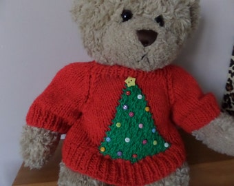 Build A Bear Sweater Pattern To Knit 6