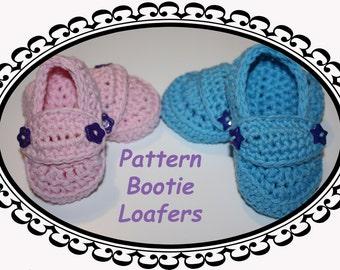 Haakpatroon Bootie Loafers