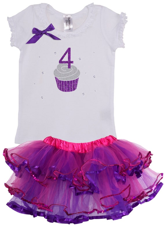 party Tutu outfit -With NAME- Frozen Elsa 4th Birthday dress