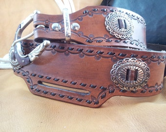 Western Drop Loop Belt for SASS or Cowboy Action Shooting