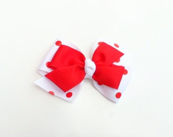 July 4th hair bow, girls hairbow