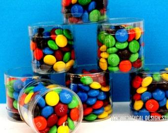 Cylinder Candy Favor Box (One Dozen)