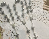 20 pcs  First communion favors / Mini  Rosary Baptism Favors / Baptism favors / Religious Mini Rosary / Narelo