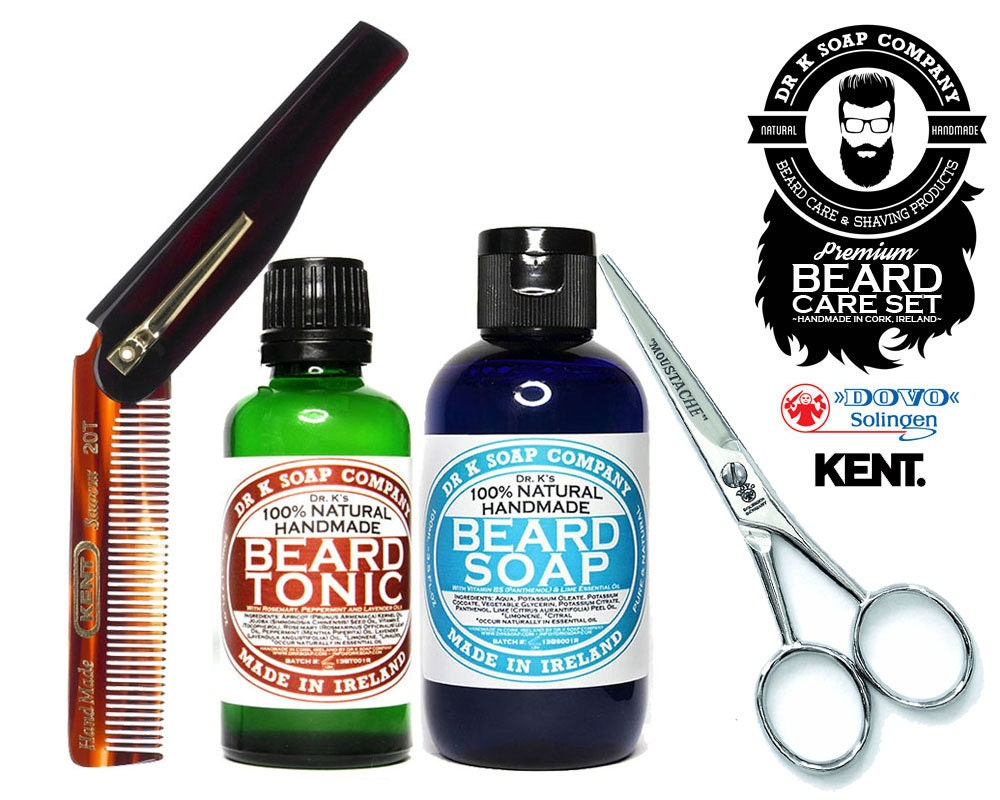 mens grooming kit all natural premium beard care by drksoapcompany. Black Bedroom Furniture Sets. Home Design Ideas