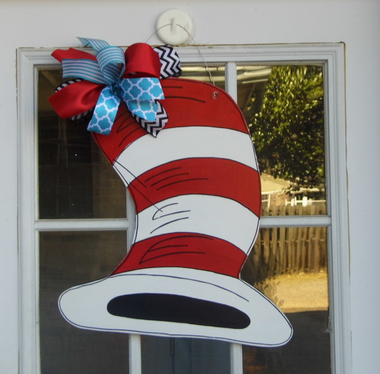 Cat In The Hat Door Decor Site Pinterest Com