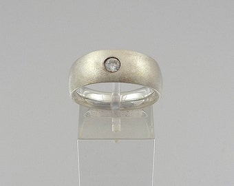 Silver Court Ring