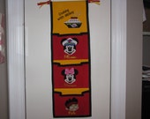 3 pocket Disney Cruise Fish Extender - Custom Designed with your favorite characters
