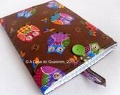Fabric iPad sleeve