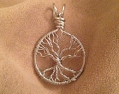 Whomping Willow Wire Wrapped Pendant mini