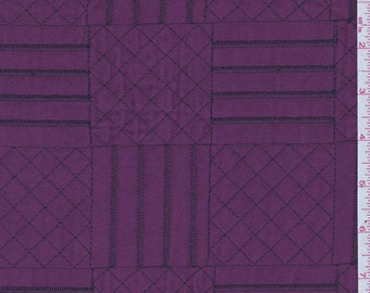"""59"""" Pink  Fuschia Quilted Microsuede by the yard"""