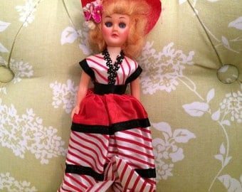 CLEARANCE Vintage Doll of France, Dolls From Around the World, Doll in Costume, Dolls of the World
