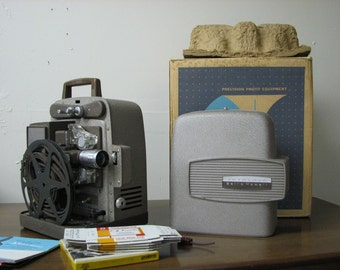 Art Deco, Vintage Bell and Howell movie projector