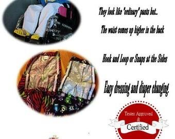 Rock N Roll Adaptive Pants Pattern sizes 2-8